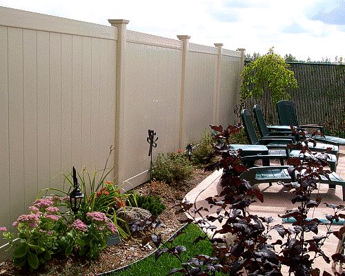 Click here for more details on our Vinyl Fence Installations
